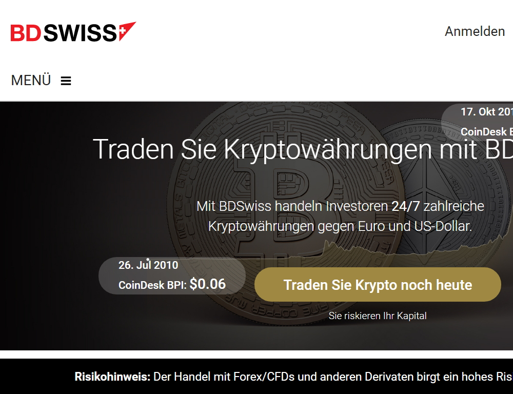 Bdsiwss bitcoin homepage